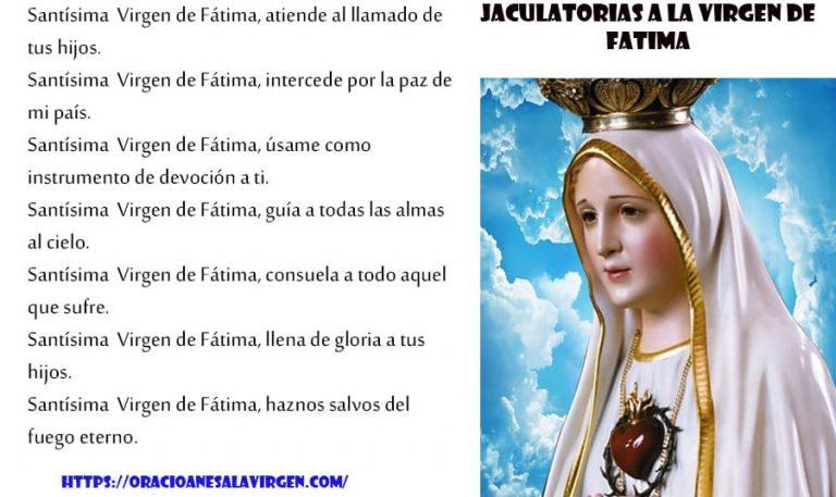 Letanías a la Virgen de Fátima